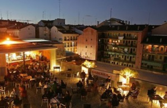 Terraza Gau Cafe Te Veo en Madrid