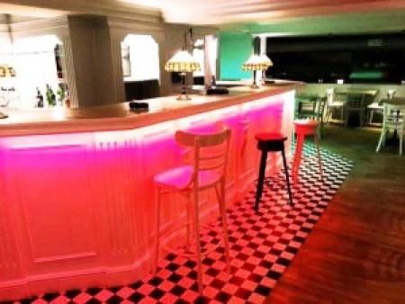 Nu Restaurante barra de arribaTe Veo en Madrid