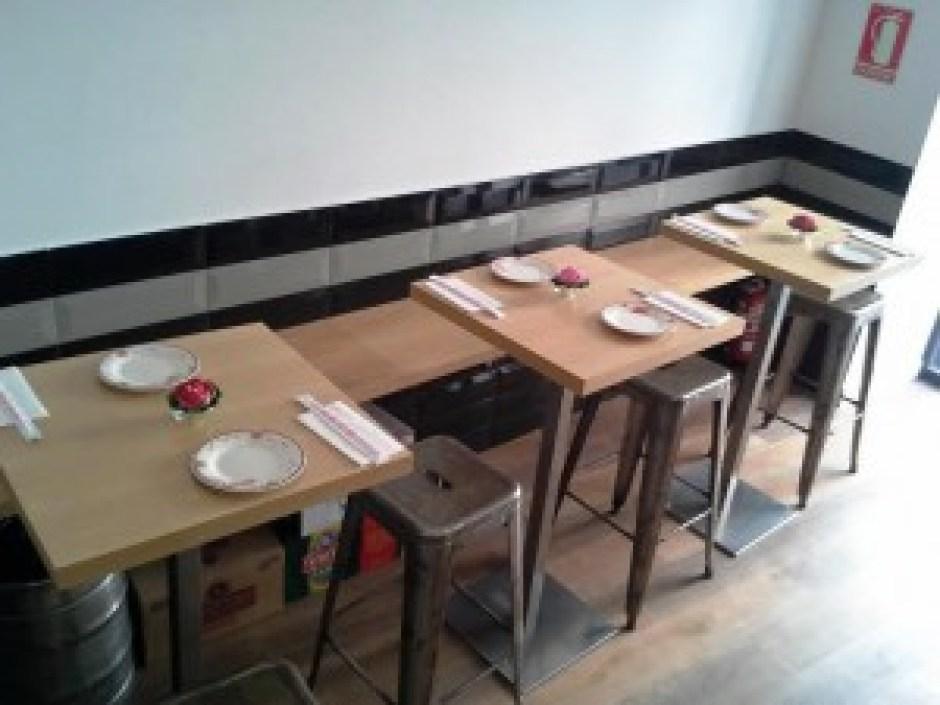 Restaurante Kungfu Noodles barra entrada Te Veo en Madrid