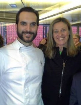 Mario Sandoval y yo Te Veo en Madrid.