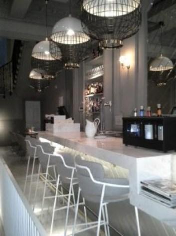 Restaurante El Imparcial zona de barra Te Veo en Madrid