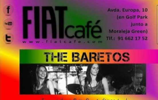 The Baretos Fiat Café La Moraleja Te Veo en Madrid