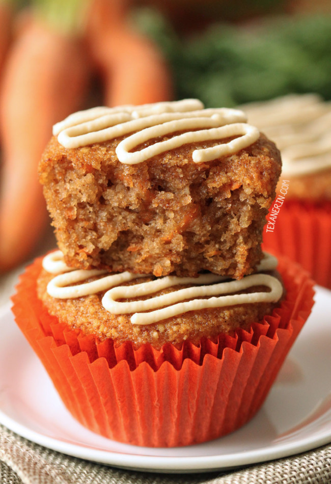 These Naturally Sweetened Grain Free And Gluten Carrot Cake Cupcakes Have The Best