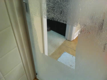 cleaning your Houston TX shower door glass