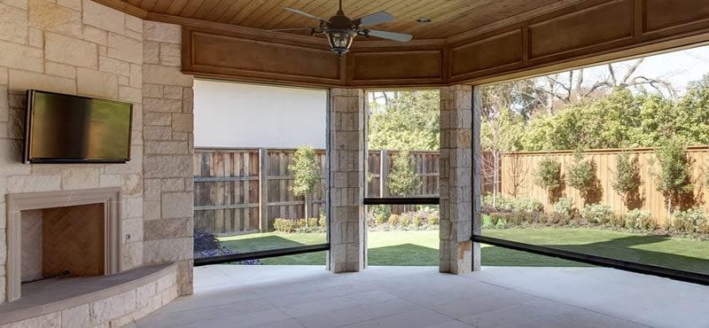 porch shades Houston TX