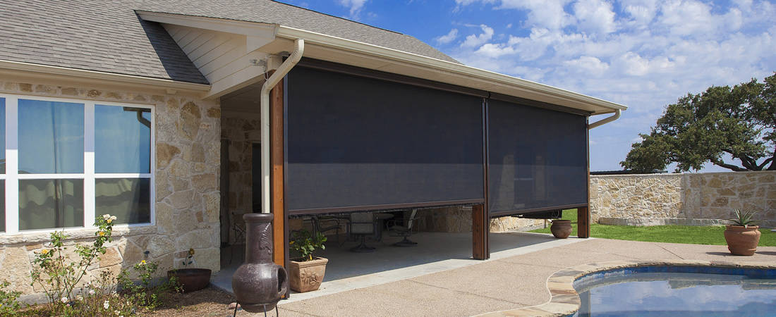 Patio Shades & Screens Conroe Texas