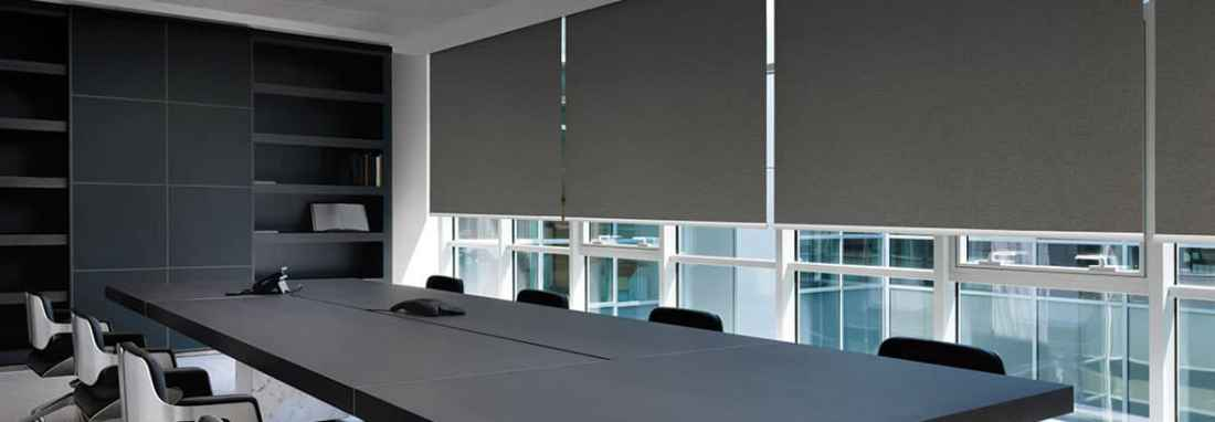 commercial roller shades Houston Texas