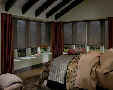 The Woodlands roller shades