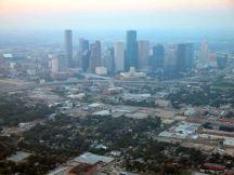 ...downtown Houston...
