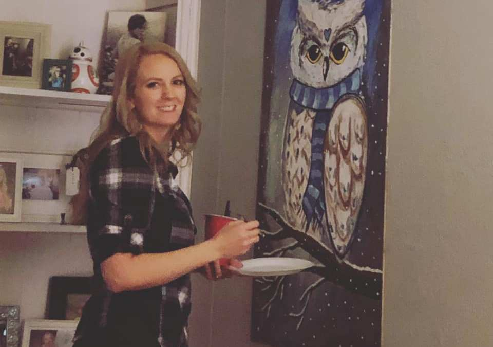 3 Reasons Why to Paint Over a Painting!