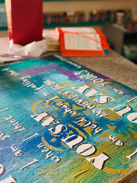 Bible Study & Painting
