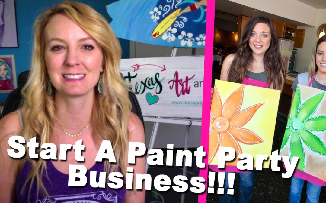 #1 Tip You Need To Start A Paint Party Business