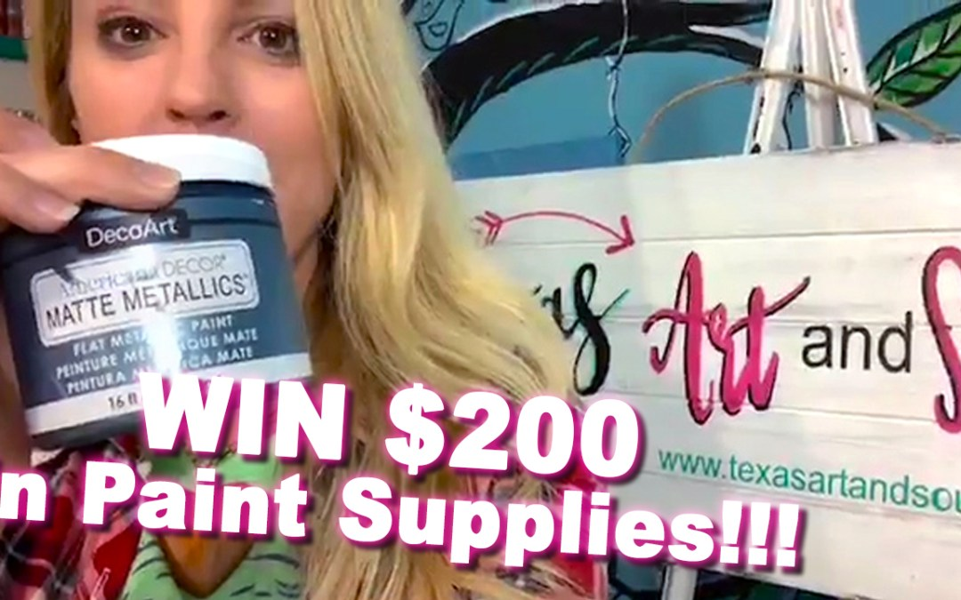 Big $200 GIVEAWAY!!! I want to say THANK YOU to all of you!!!