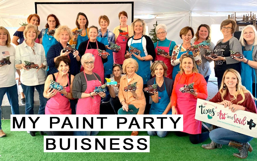 Paint Party Fun!