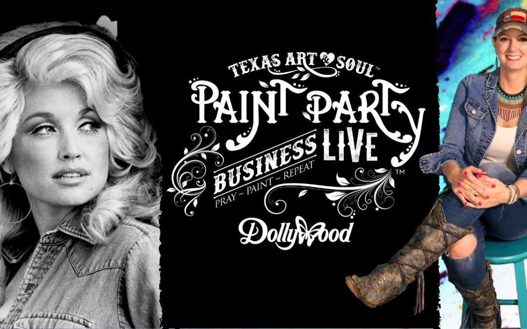 DOLLYWOOD UPDATE ON PAINT PARTY BUSINESS LIVE!