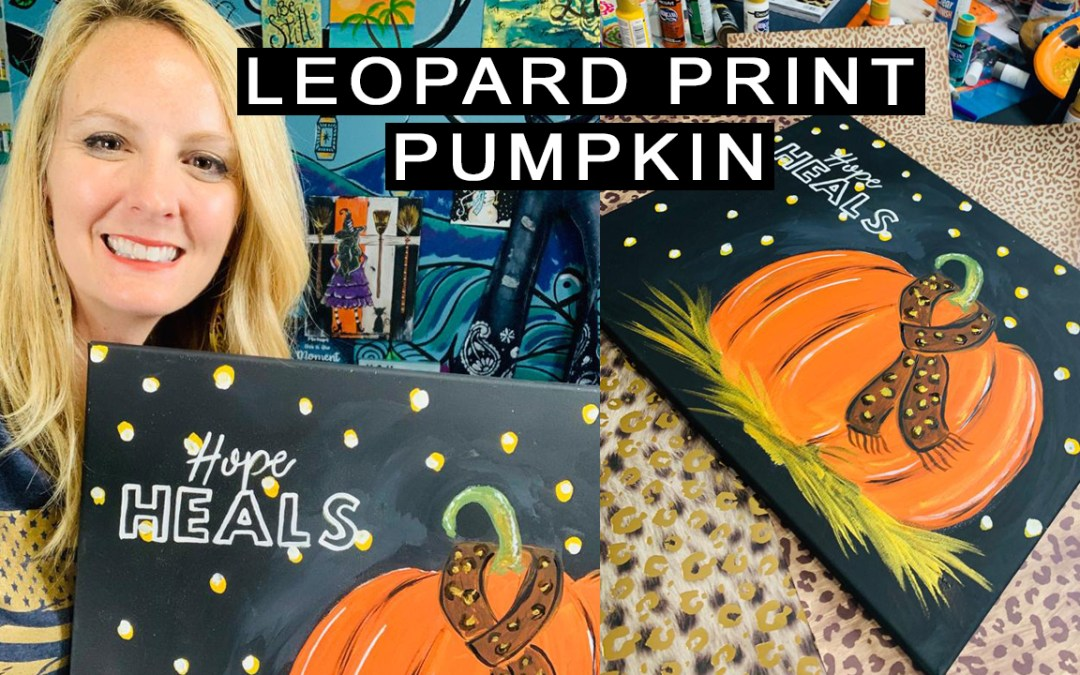 HOPE AND LEOPARD PUMPKIN