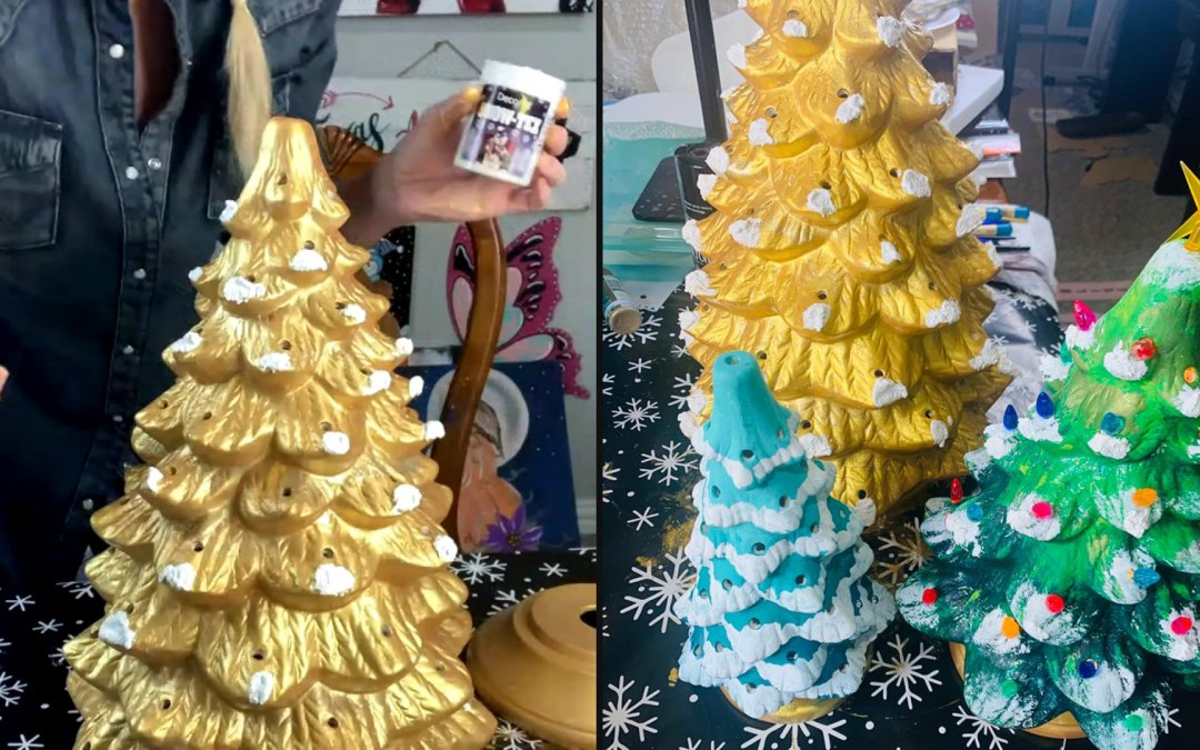WANT TO PAINT A GIANT CERAMIC TREE?