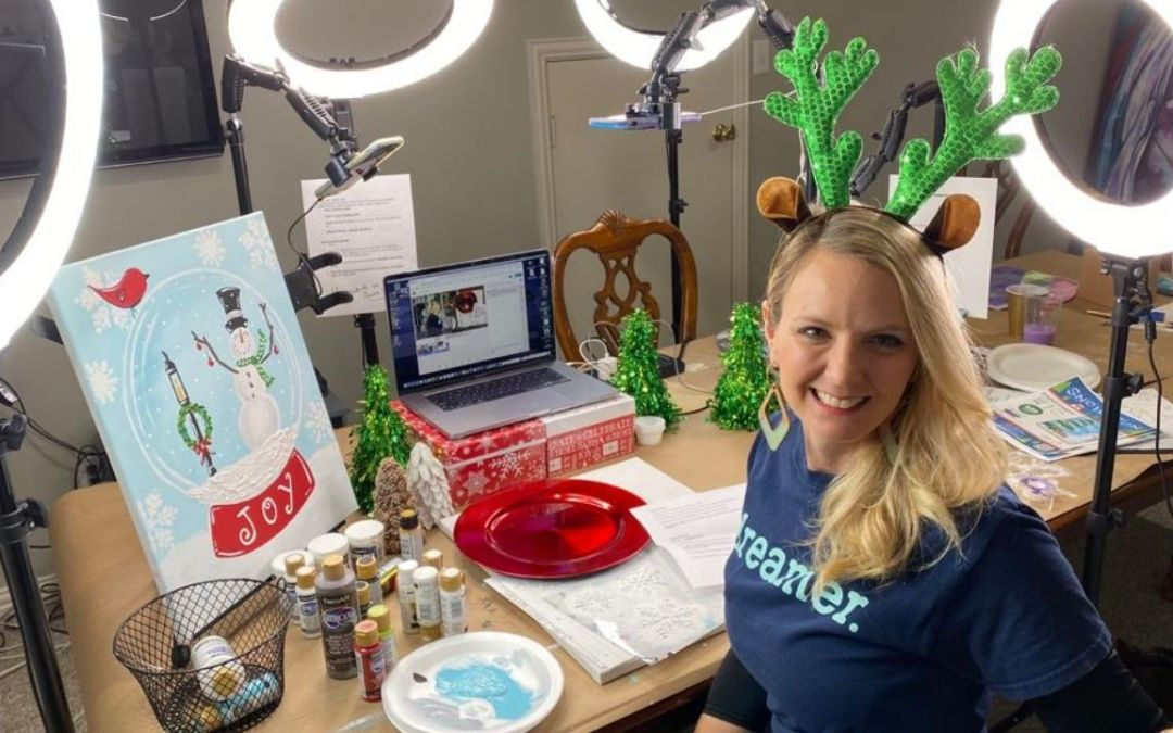 Learn to Create a Virtual Paint Party Business