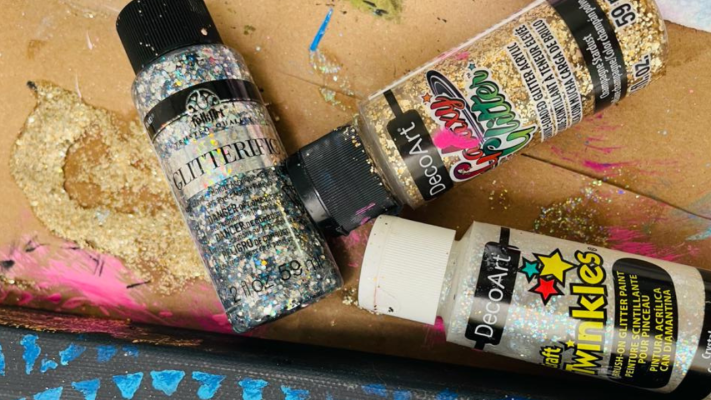 Glitter Glue Test | Which One is Perfect for Paint Parties?