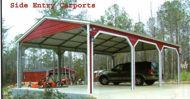 Texas Steel Carports And Metal Sheds Online