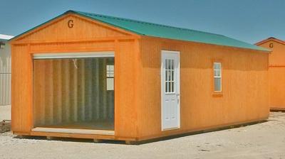 Garage Graceland Portable Buildings