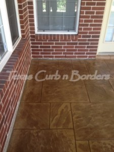 Concrete Staining Services Installation After Image