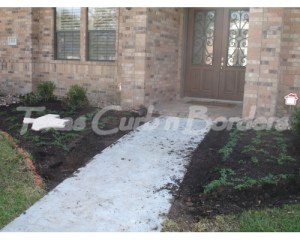 Suttles concrete install 4 before image