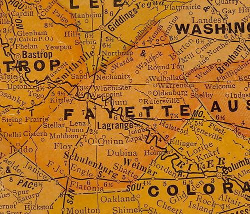 Map Live Texas Oak County