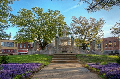Image result for downtown paris texas