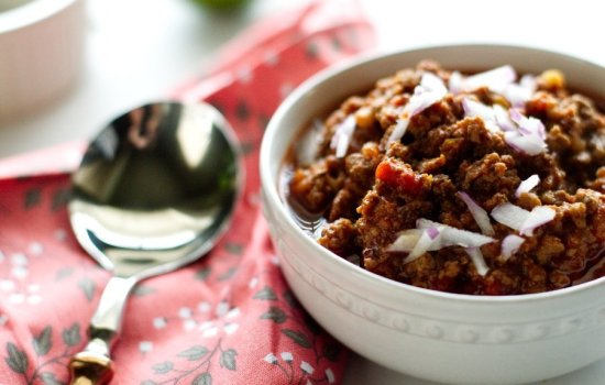 Texas Keto Venison Chili
