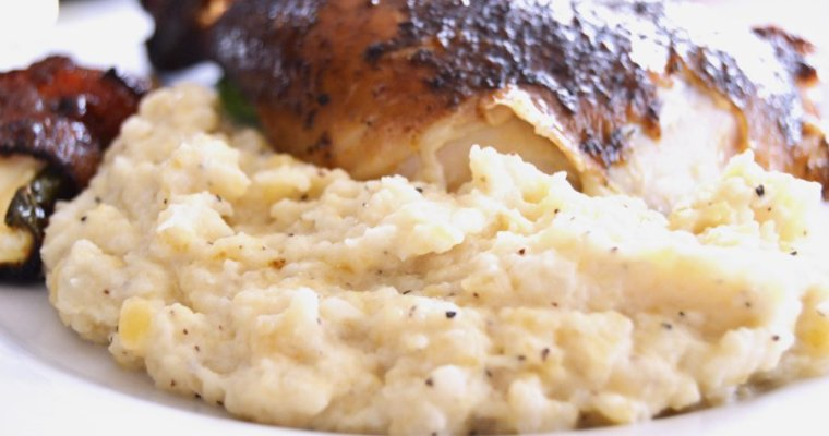 Creamy Dreamy Mashed Turnips