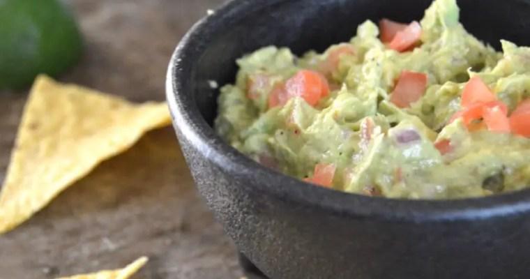 Authentic & Simple Texas Guacamole