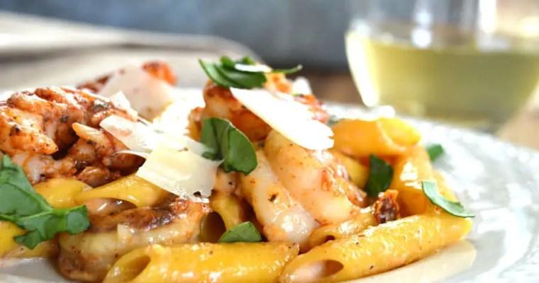 Crazy Cajun Shrimp Pasta