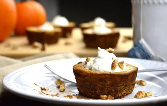 Maple Pecan Pumpkin Tartlets