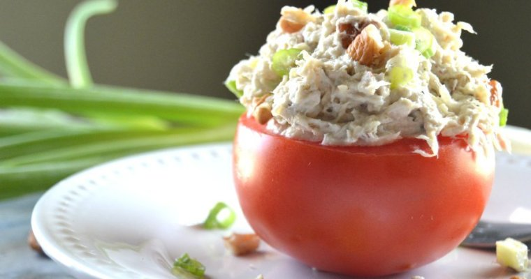 Pecan Chicken Salad – Keto, Low Carb, GF