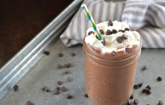 Frozen Hot Chocolate – Keto, Low Carb, Dairy Free