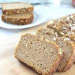 Low Carb, Keto Friendly, Gluten Free, Chai Spiced Pumpkin Bread