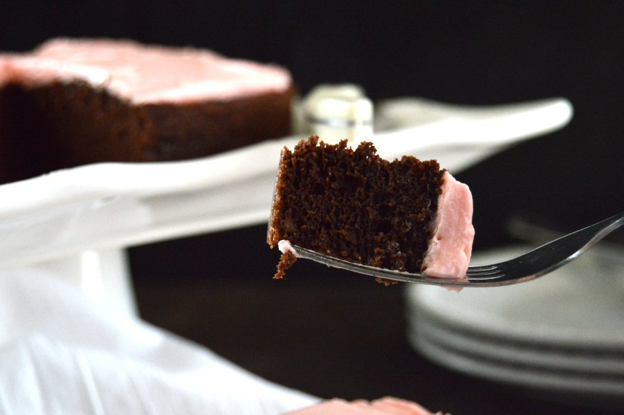 Chocolate Sour Cream Cake Low Carb Keto Gluten Free