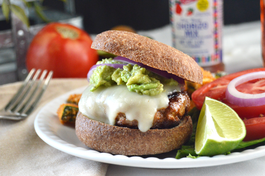 Loaded Chorizo Burgers