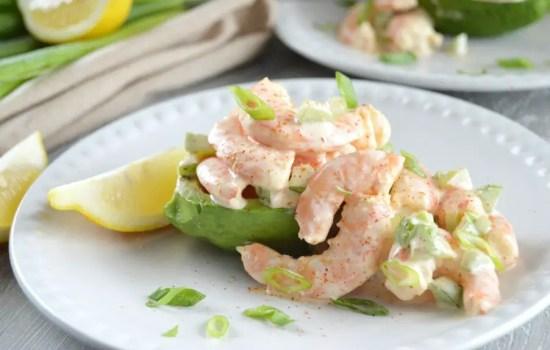 Bayou Shrimp Salad with Avocado