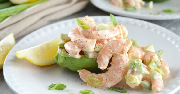 Bayou Shrimp Salad with Avocado