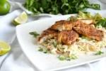 Blacken Redfish Taco Bowls Low Carb, Gluten Free, Keto