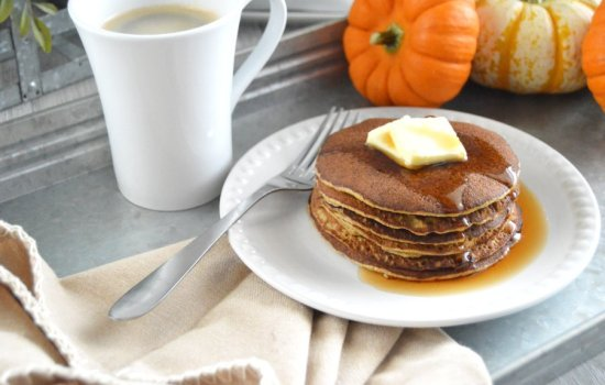 Pumpkin Pancakes – Low Carb, Gluten Free, Dairy Free