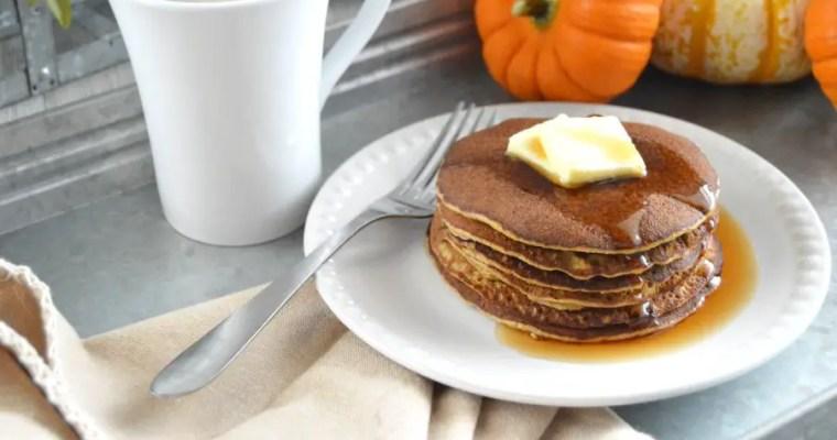 Keto Pumpkin Pancakes – GF, DF