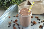 chocolate keto shake