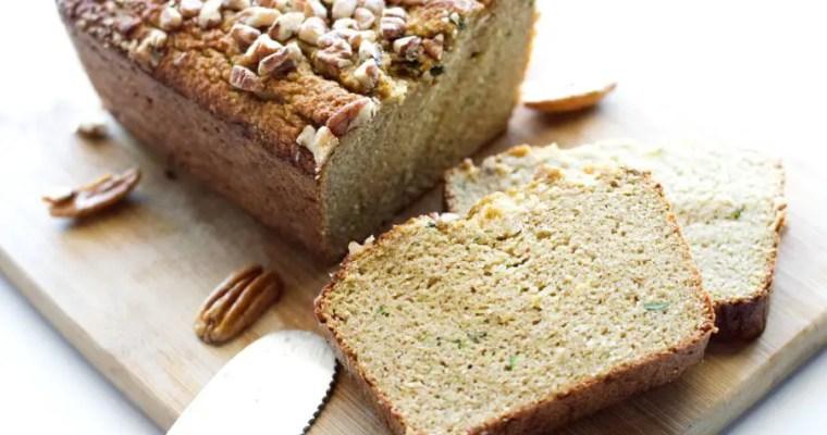 Low Carb Zucchini Bread – Keto, GF