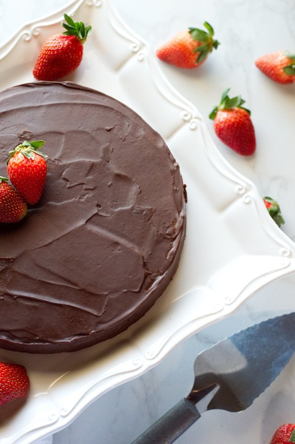 Whole Keto Chocolate Cake - Low Carb Dessert, Gluten Free