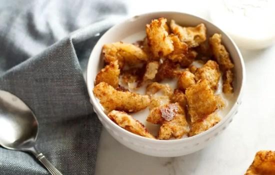Cinnamon Crunch Keto Cereal