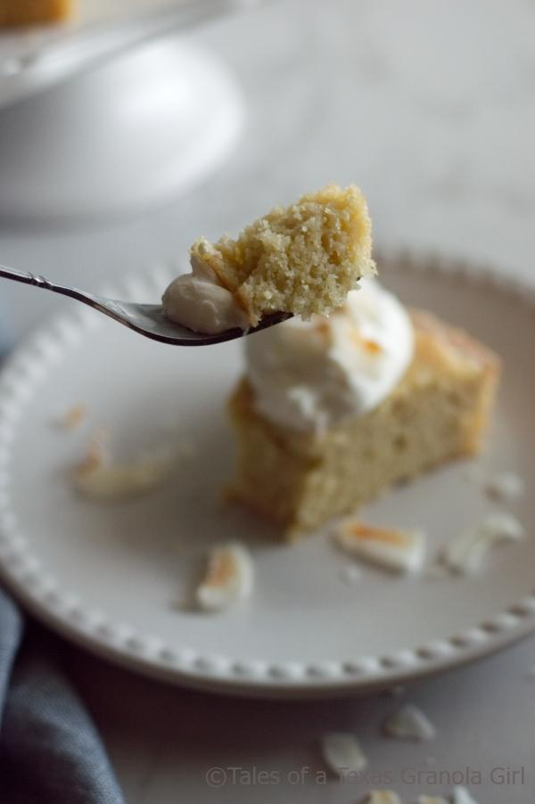 Dairy Bite of Diary Free Low Carb Coconut Cake