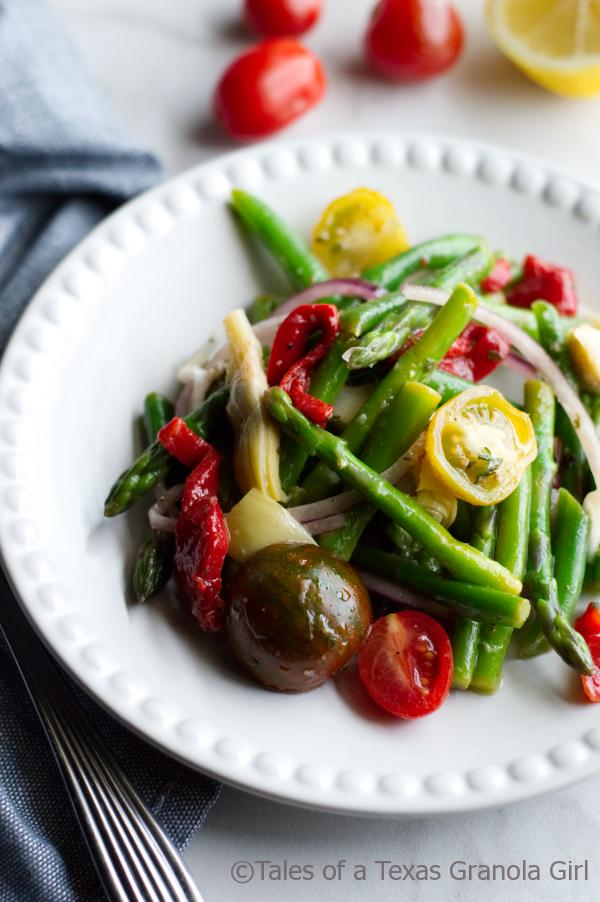 Marinated Asparagus Salad with Lemon Vinaigrette